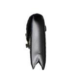 Prada Clutch Marmo+nube Saffiano leather grey black4 Kopie