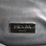 Prada Clutch Marmo+nube Saffiano leather grey black5 Kopie
