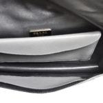 Prada Clutch Marmo+nube Saffiano leather grey black6 Kopie