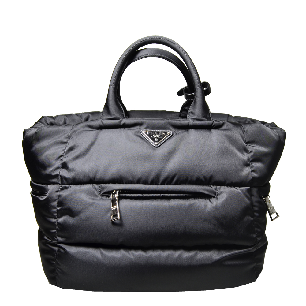 Prada hand bag Tessuto Bomber black Nylon_9 Kopie