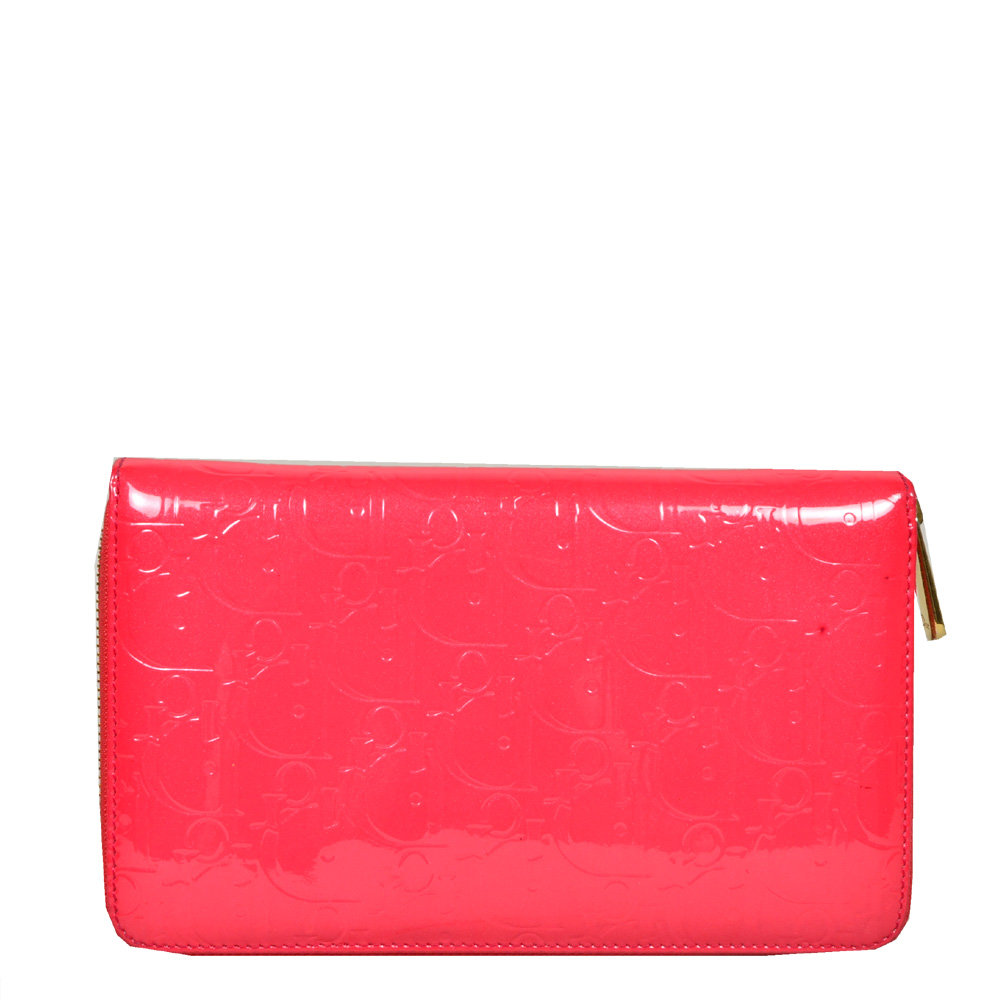 Dior_wallet_pattent_leather_pink_gold_1 Kopie