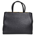Fendi bag 2 jour leather grey gold_5 Kopie