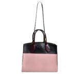 Louis Vuitton City Streamer Taurillon MM Magnolia schwarz burgundy gold8 Kopie