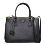 Prada_Galleria_bag_medium_saffiano_leather_black_gold_910 Kopie