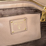 Prada_Shopper_leather_cognac_gold_4 Kopie