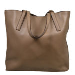 Prada_Shopper_leather_cognac_gold_7 Kopie