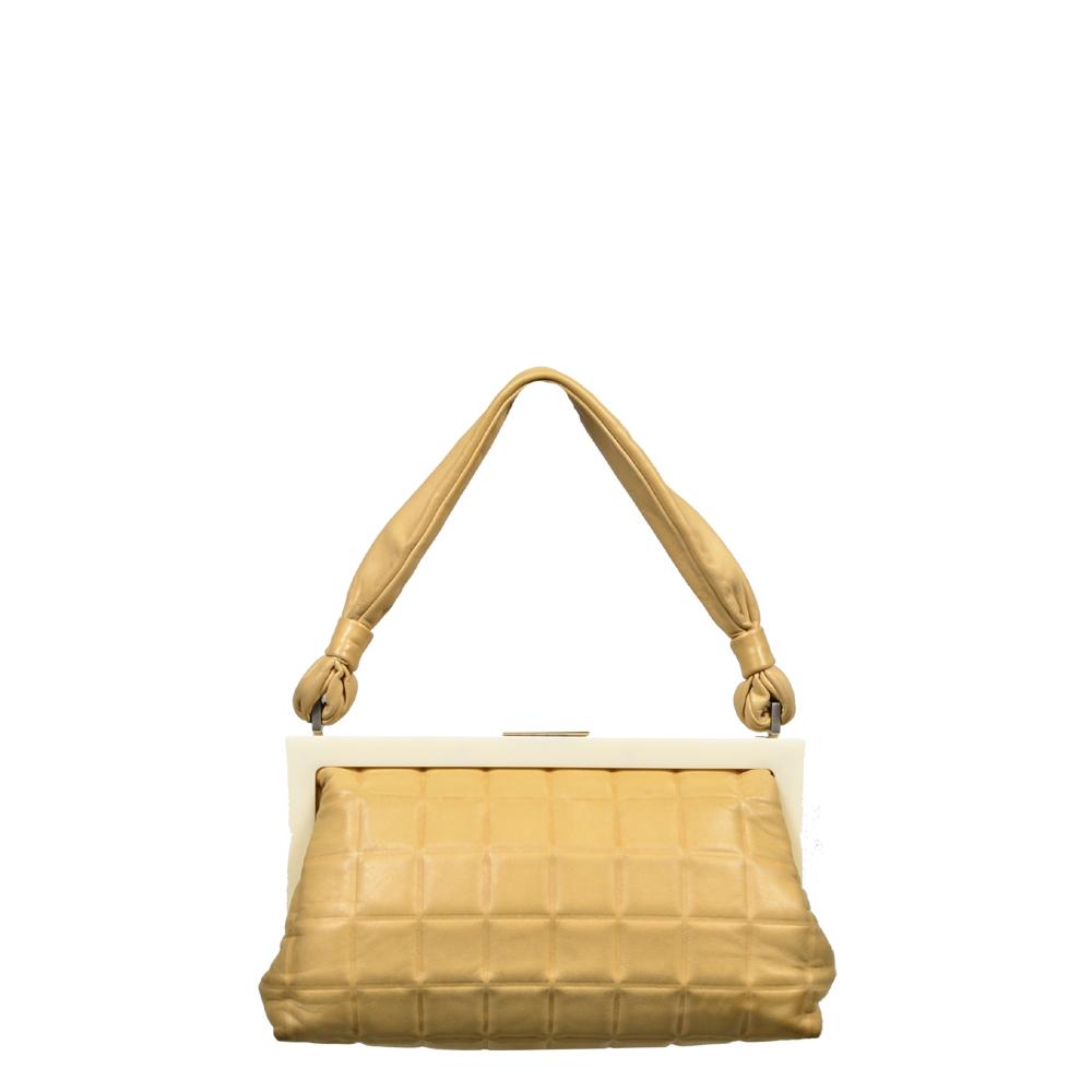 Ewa Lagan Chanel Cube Bagalit Vintage Beige
