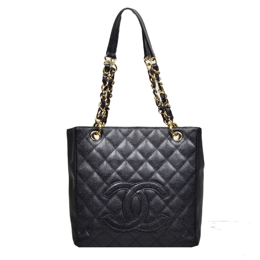 Chanel_GST_Mini_caviar_leather_black_gold_7 Kopie