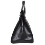Hermes Birkin 35 black gold Hardware Clemence leather_4 Kopie