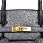 Hermes Birkin 35 black gold Hardware Clemence leather_5 Kopie