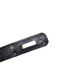Hermes Birkin 35 black gold Hardware Clemence leather_8 Kopie