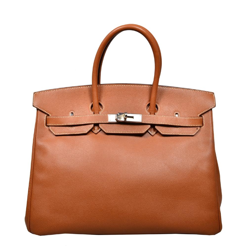 f35e6153bff6 ewa lagan - Hermès Birkin 35 Fauve Epsom Leather Palladium