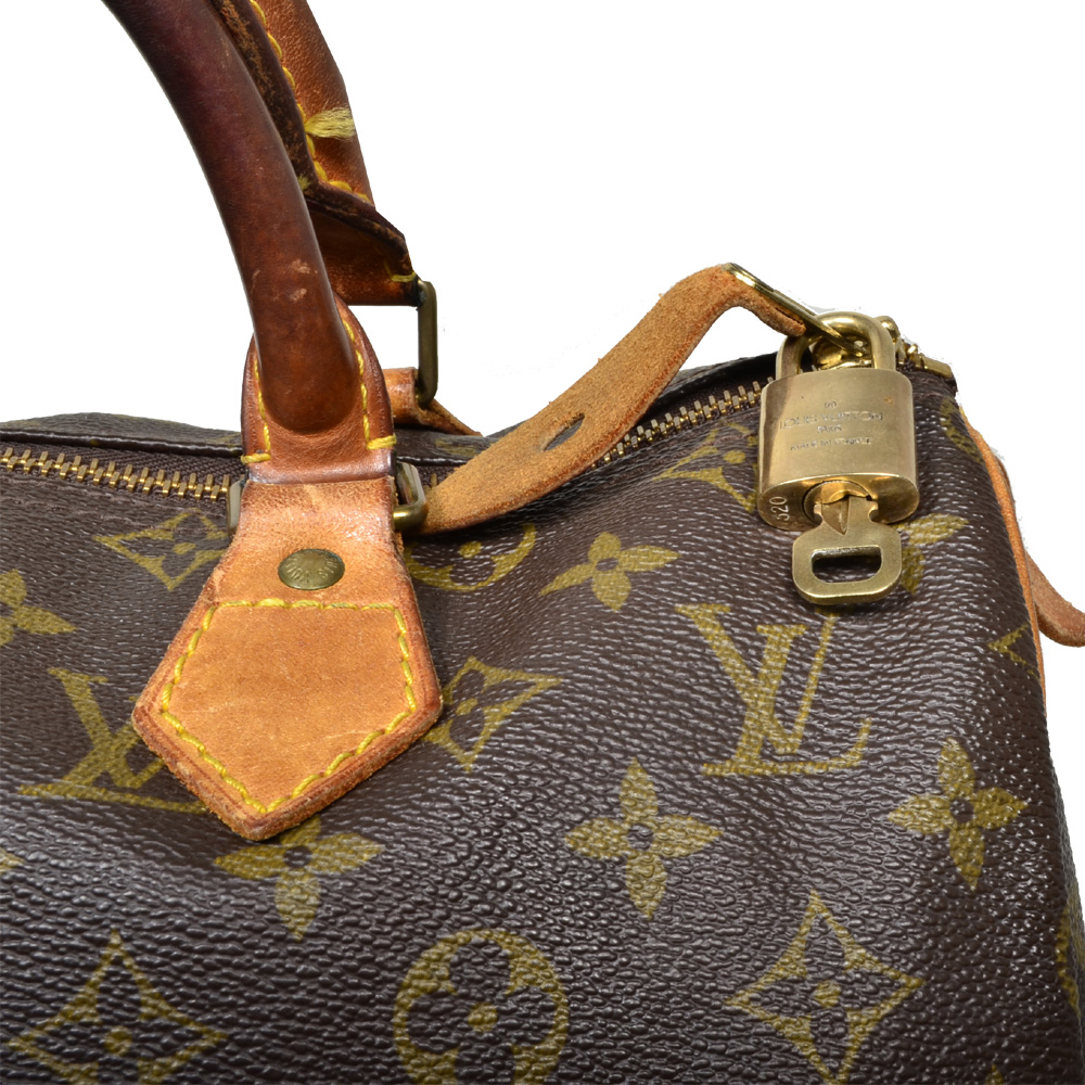 1218480c81ea Louis Vuitton Speedy 30 Monogram LV 3 Kopie