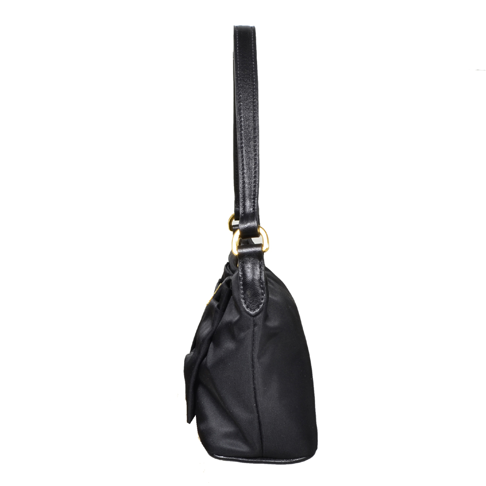 867abb6dc743 ewa lagan - Prada Pochette Loop Nylon Black Schwarz