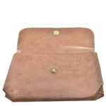 Bottega Veneta clutch leather brown vintage_11 Kopie