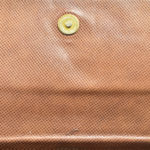 Bottega Veneta clutch leather brown vintage_3 Kopie
