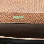 Bottega Veneta clutch leather brown vintage_4 Kopie