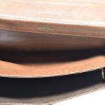 Bottega Veneta clutch leather brown vintage_8 Kopie