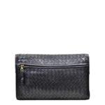 Bottega Veneta crossbody bag leather black braided_11 Kopie
