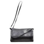 Bottega Veneta crossbody bag leather black braided_4 Kopie