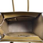 Celine Luggage Mini mini buckskin leather khaki blue white_11 Kopie