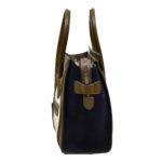 Celine Luggage Mini mini buckskin leather khaki blue white_3 Kopie