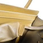 Celine Luggage Mini mini buckskin leather khaki blue white_9 Kopie