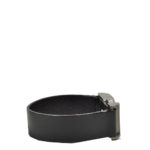 Chanel bracelet leather black silver_1 Kopie