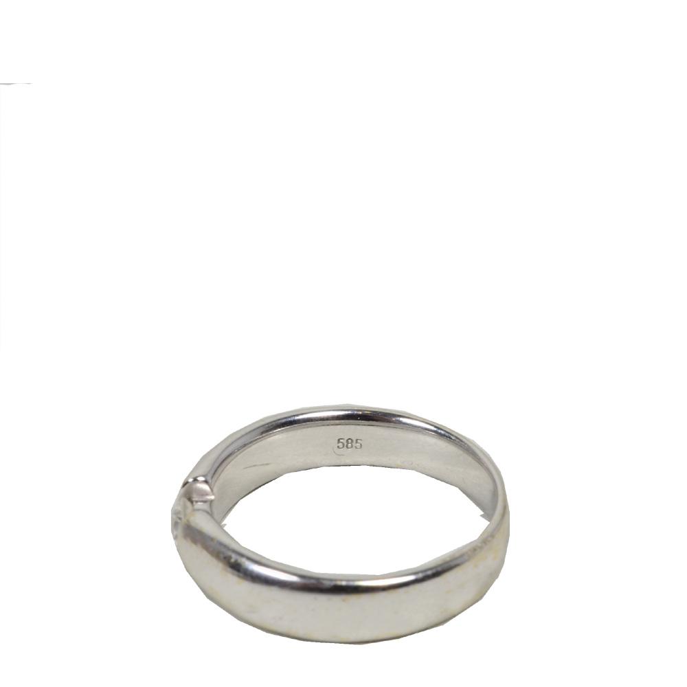Ewa Lagan Christ Ring Diamond 585 White Gold Weissgold