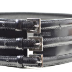 Gianfranco Ferre leather belt black size 75_5 Kopie