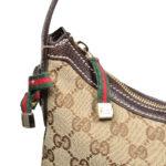 Gucci hobo supreme mini gg canvas beige gold3 Kopie