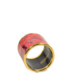 Hermes Carre Ring Anneu Email gold Sans Plomp Brazil red brazil5 Kopie