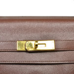 Hermes Kelly 35 epsom leather broun gold 4 Kopie