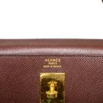 Hermes Kelly 35 epsom leather broun gold 5 Kopie