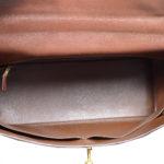 Hermes Kelly 35 epsom leather broun gold 7 Kopie