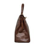 Hermes Kelly 35 epsom leather broun gold 8 Kopie