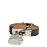 Hermes Kelly MM watch box noir steel_1 Kopie