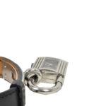 Hermes Kelly MM watch box noir steel_3 Kopie
