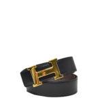 Hermes_h-belt_box_noir_clemence_brune_gold_size 110 Kopie