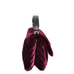 Lanvin Plum Velvet Sugar Bag bordeaux Kopie