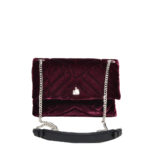 Lanvin Plum Velvet Sugar Bag bordeaux4 Kopie