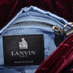 Lanvin Plum Velvet Sugar Bag bordeaux6 Kopie