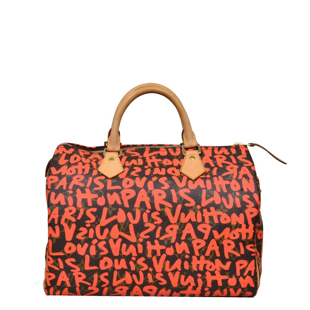 Louis Vuitton_Speedy_30_grafiti_orange_limited_9 Kopie