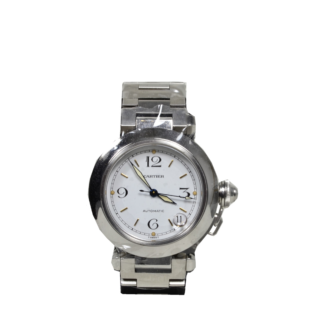 Cartier Pasha watch steel 12 Kopie