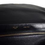 Celine_Trapez_Python_leather_black_beige_8 Kopie