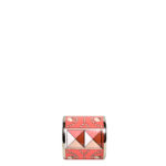 Hermés carre ring Emaile coral palladium patterned_1 Kopie