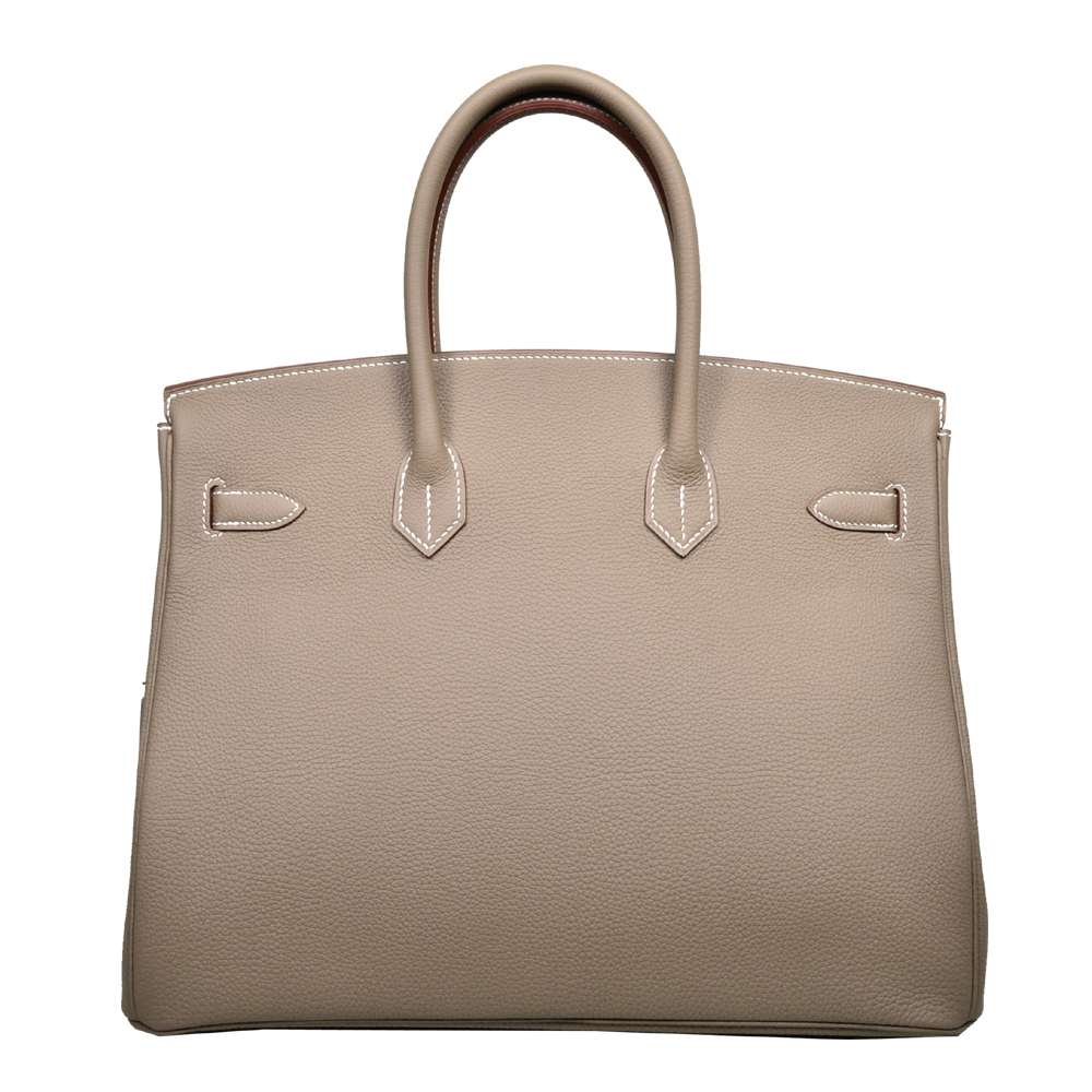 696f809938 ewa lagan - Hermes Birkin 35 Etoupe Togo Leather Gold