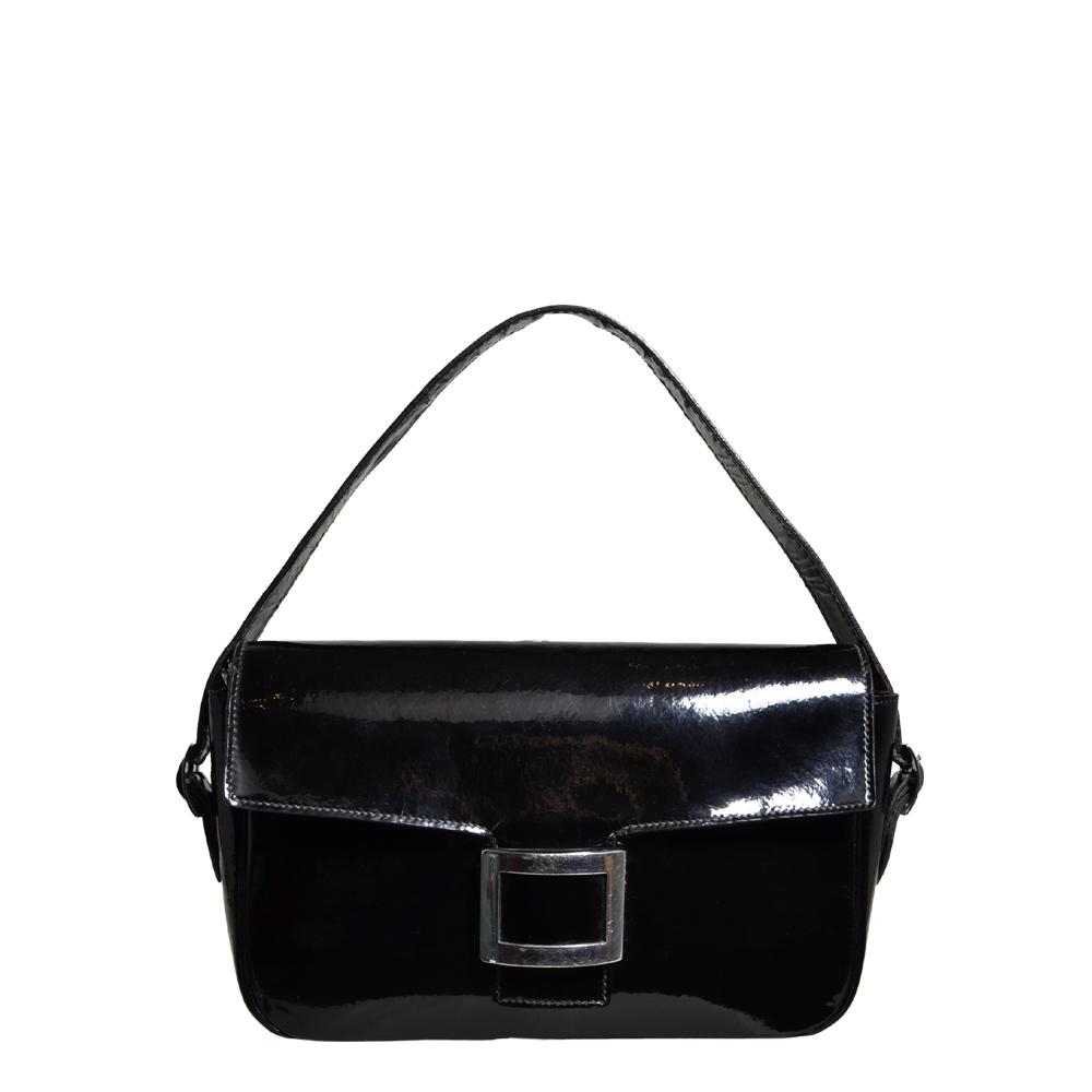 Hermes bag vintage lacleather black palladium 1 Kopie