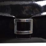 Hermes bag vintage lacleather black palladium 2 Kopie