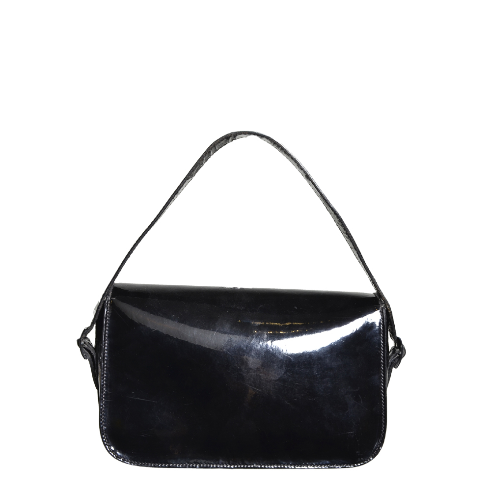 6a5db82b62b6 ewa lagan - Hermes Martine Vintage Bag Patent Leather Black Palladium